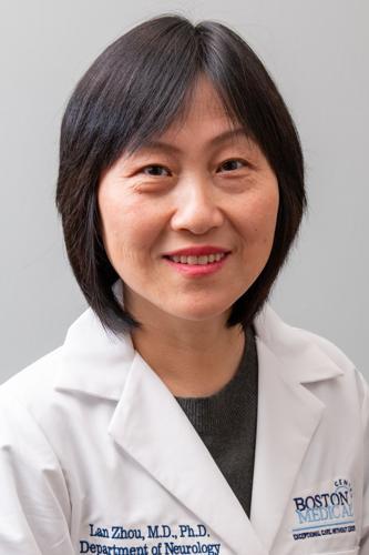 Photograph of Dr. Lan Zhou